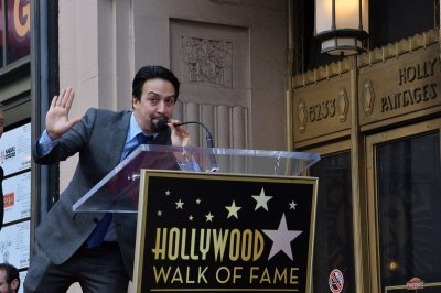 Lin-Manuel Miranda gets star on the Hollywood Walk of Fame
