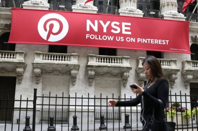 Pinterest shares soar 25 percent on trading debut
