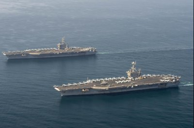 USS Eisenhower, USS Truman, B-52 bomber start Arabian Sea operations