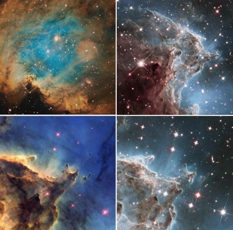 NASA releases stunning new images of Monkey Head Nebula