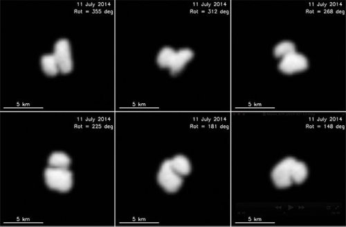 Space probe discovers two comets in one
