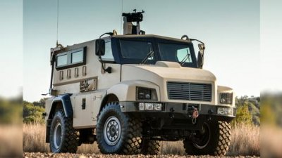 BAE Systems introduces new mine-protected vehicle