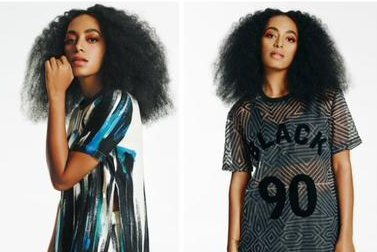 Solange Knowles stars in ad campaign for Eleven Paris