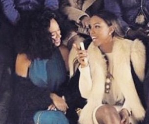 Solange Knowles, Kelly Rowland reunite at Paris Fashion Week