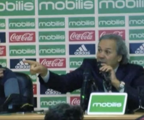 Algeria soccer coach Rabah Madjer goes bonkers on 'enemy of national team' reporter