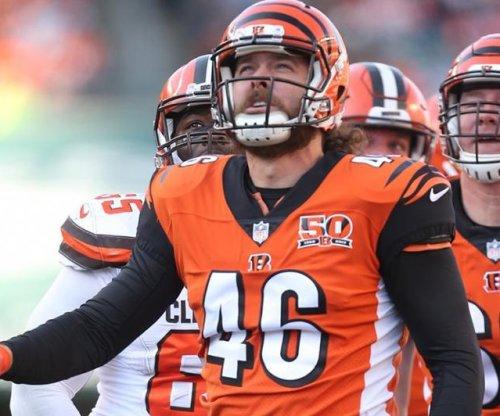 Cincinnati Bengals snapper Clark Harris sets Guinness record at 2018 Pro Bowl