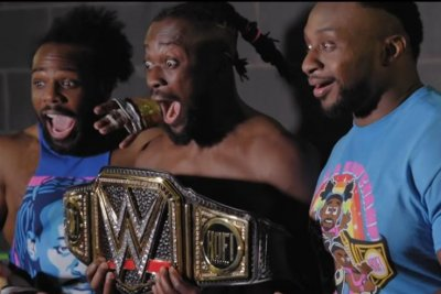 WWE's New Day get emotional in WrestleMania behind-the-scenes video