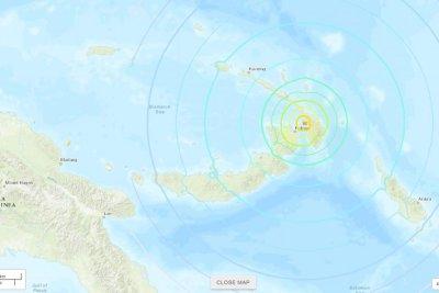 Magnitude 7.5 earthquake hits Papua New Guinea