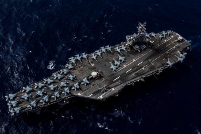 USS Ronald Reagan, carrier strike group begin 2020 deployment