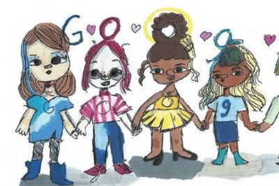 Google presents 2020 Doodle for Google winner