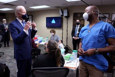 Biden to make 1st prime-time address Thursday marking COVID-19 anniversary