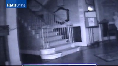 'Ghost' caught on camera at medical center