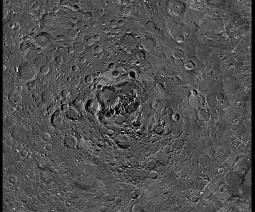 ESA photo shows lunar north pole