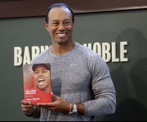 Tiger Woods on hair: 'I've got my helipad on top'