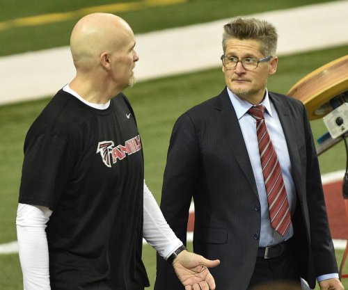 Atlanta Falcons coach Dan Quinn impressed by offensive line's run blocking