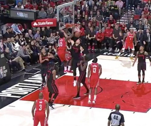 Blazers' 7-footer Nurkic owned by second dunk in four games