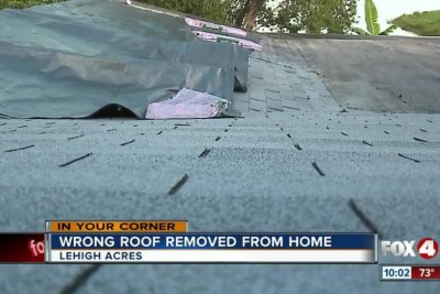 Roofers tear roof off wrong house in Florida