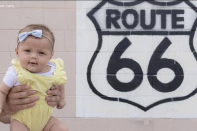Newborn nearing end of all 50 states tour