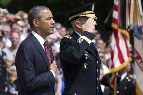 Obama to Americans: 'Be worthy' of armed forces' sacrifices