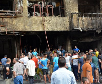 Roadside bomb, suicide bomber kill at least 7 in New Baghdad district