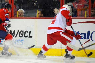 Gustav Nyquist's shootout goal gives Detroit Red Wings a win over Arizona Coyotes