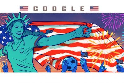 Google celebrates USA's victory in new Women's World Cup Doodle