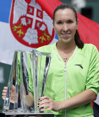Jankovic tops S. Williams in Italian Open