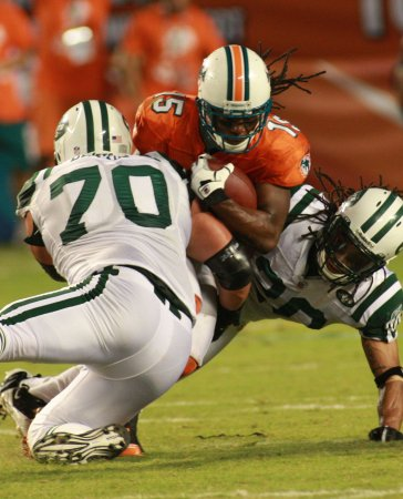 NFL: New York Jets 31, Miami 23
