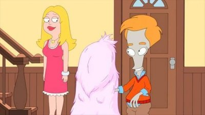 Preview Kim Kardashian as a furry alien on 'American Dad'