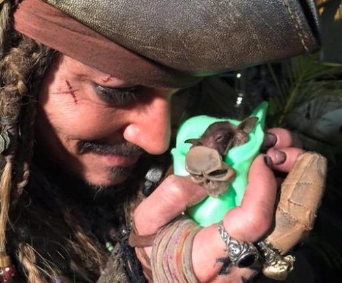 Johnny Depp feeds baby bat in video
