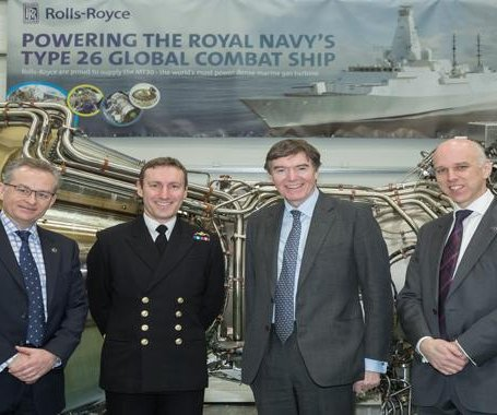 Rolls-Royce turbines pass acceptance test for Type 26 frigate