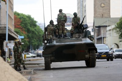 African leaders meet to mull military takeover of Zimbabwe