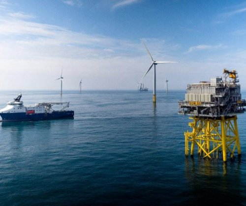 New wind farm in service off the British coast