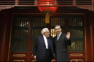 Henry Kissinger visits Beijing after warning against U.S., China conflict