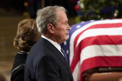 List of current, former leaders set to attend Bush funeral