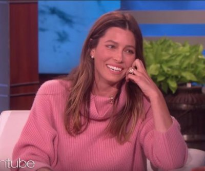 Jessica Biel says son Silas likes jokes and singing