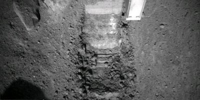 Mars Lander struggling with soil samples