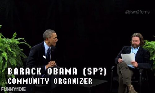 Obama plugs healthcare act 'Between Two Ferns'
