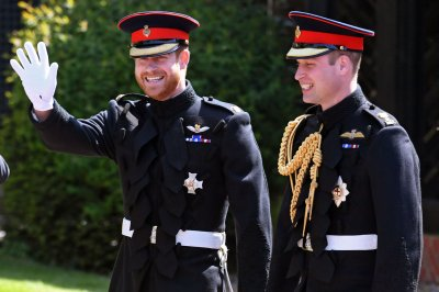 Prince Harry, Prince William wear frockcoat uniform of Blues and Royals