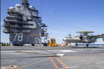 Aircraft carrier USS Gerald R. Ford begins second round of qualifications