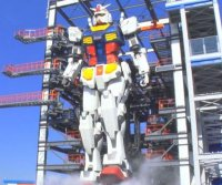 Entertainment complex unveils 59-foot-high, moving 'Gundam' robot