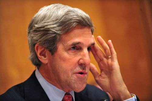 John Kerry praises release of Davis