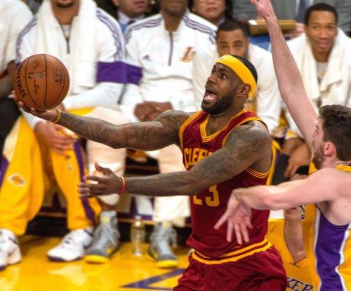 LeBron James, Cleveland Cavaliers visit the Detroit Pistons