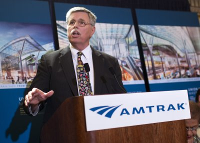 Three people killed when Amtrak train hits truck on Northeast Corridor