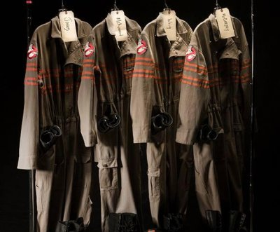 Photos of 'Ghostbusters' uniforms, gear released