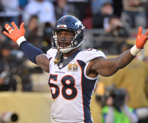Denver Broncos' Von Miller, New York Jets' Muhammed Wilkerson not at team workouts