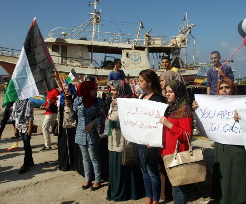 Israel intercepts Gaza-bound women's flotilla