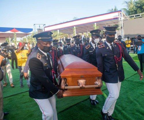 Slain Haiti President Jovenel Moise buried in hometown