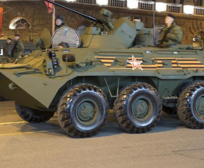 Russia develops 7-ton armored robotic military platform