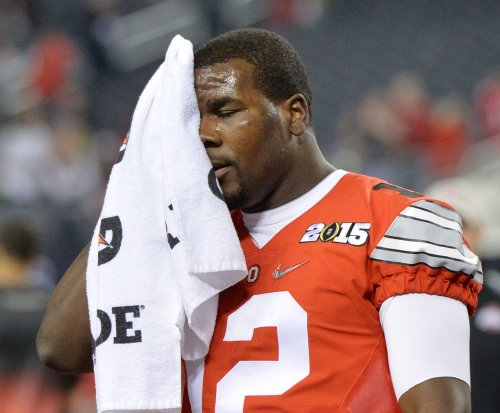 Ohio State's Cardale Jones injures hamstring at NFL scouting combine